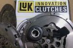 FIAT GRANDE PUNTO 1.9 D MULTIJET CLUTCH KIT, CSC & LUK DUAL MASS FLYWHEEL KIT